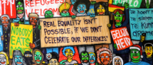 Text - Real equality isn't possible, if we don't celebrate our differences